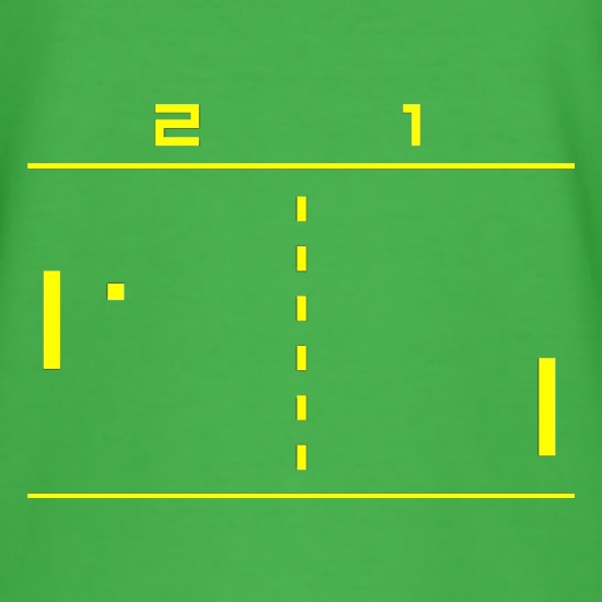 Pong Computer Game t shirt