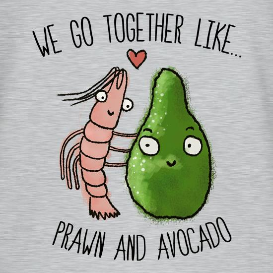 Prawn And Avocado t shirt