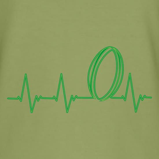 Rugby Heartbeat t shirt
