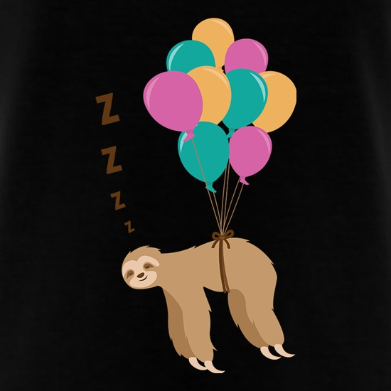 Floating Sloth t shirt
