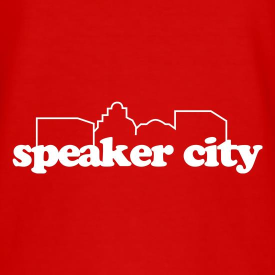 Speaker City t shirt