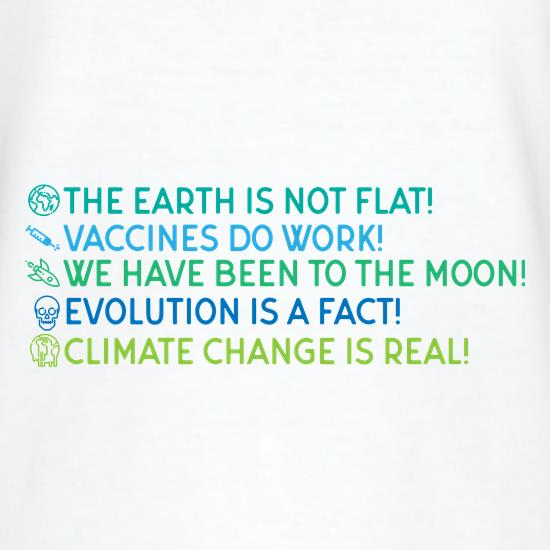 The Earth Is Not Flat t shirt