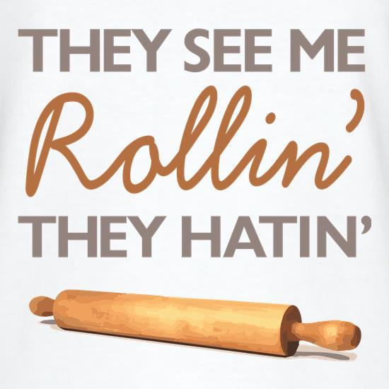 They See Me Rollin' They Hatin' t shirt