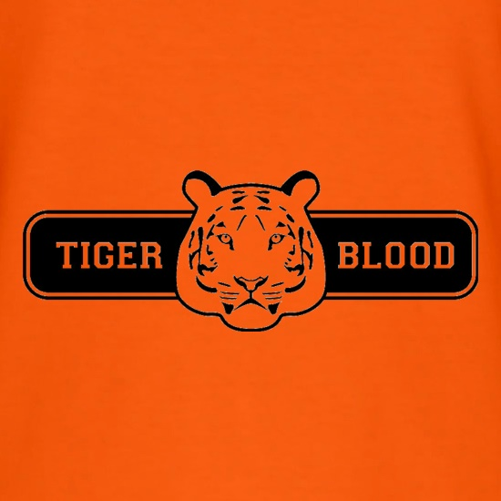 Tiger Blood t shirt