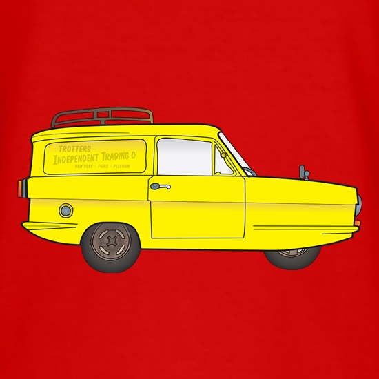 Trotters Independent Trading Van t shirt