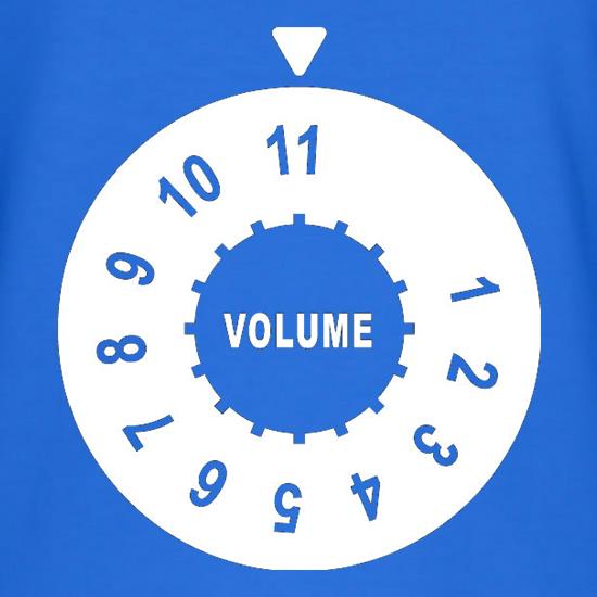 Up To Eleven T Shirt By Chargrilled