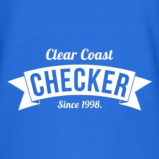11af88007d2c Clear Coast Checker t shirt ...