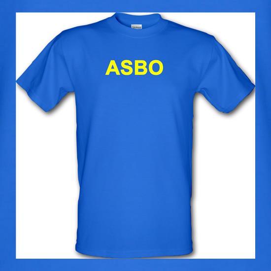 ASBO Funny V-Neck T-Shirt