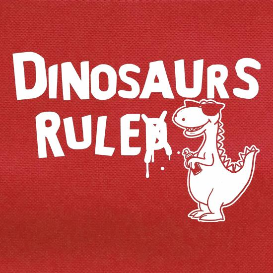 Dinosaurs Ruled t shirt