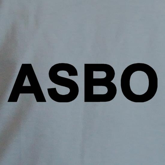 Anti Social Behaviour Order t shirt